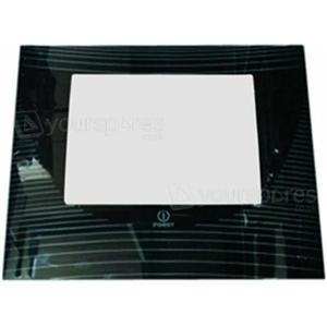 K341G Oven Door Glass Image