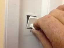 Door latch removal 2
