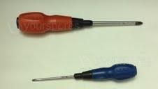 Phillips & small flat screwdriver