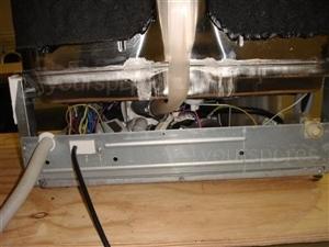 DI620 Rear Bottom Cover Removed