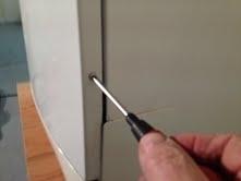 Door front removal 2