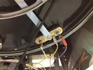 Heater wires attached