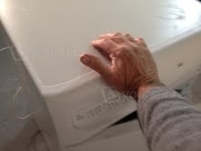 Hotpoint CTD00 lid removal 2