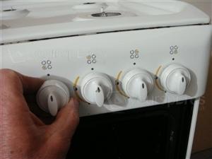 K341G Burner Control Knob 5a