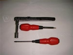 Phillips, T15 & 13mm socket