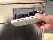 Soap dispenser inside door 2